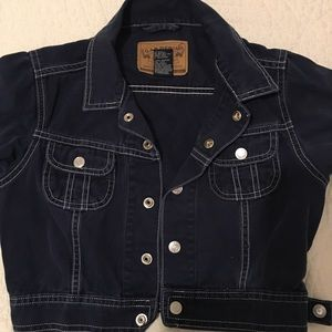 Gap Denim Girls Jeans Jacket Casual Size XS/TP
